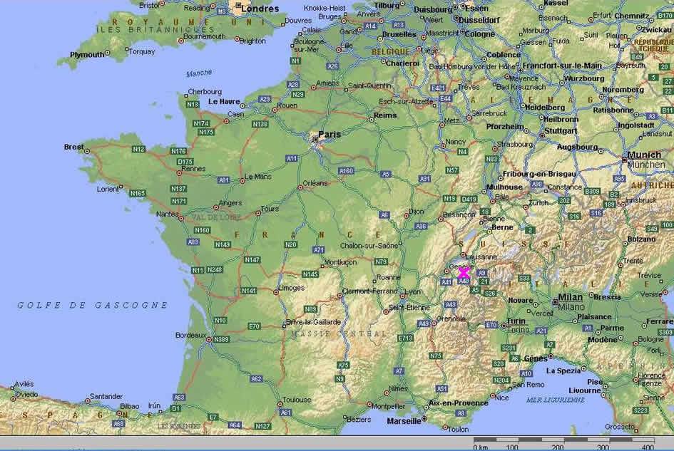 Carte De France Samoens | My blog